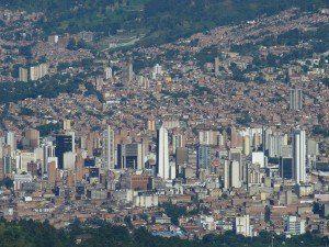 Medellín, Colombia. Vista parcial.