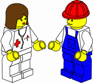 Medica y trabajador