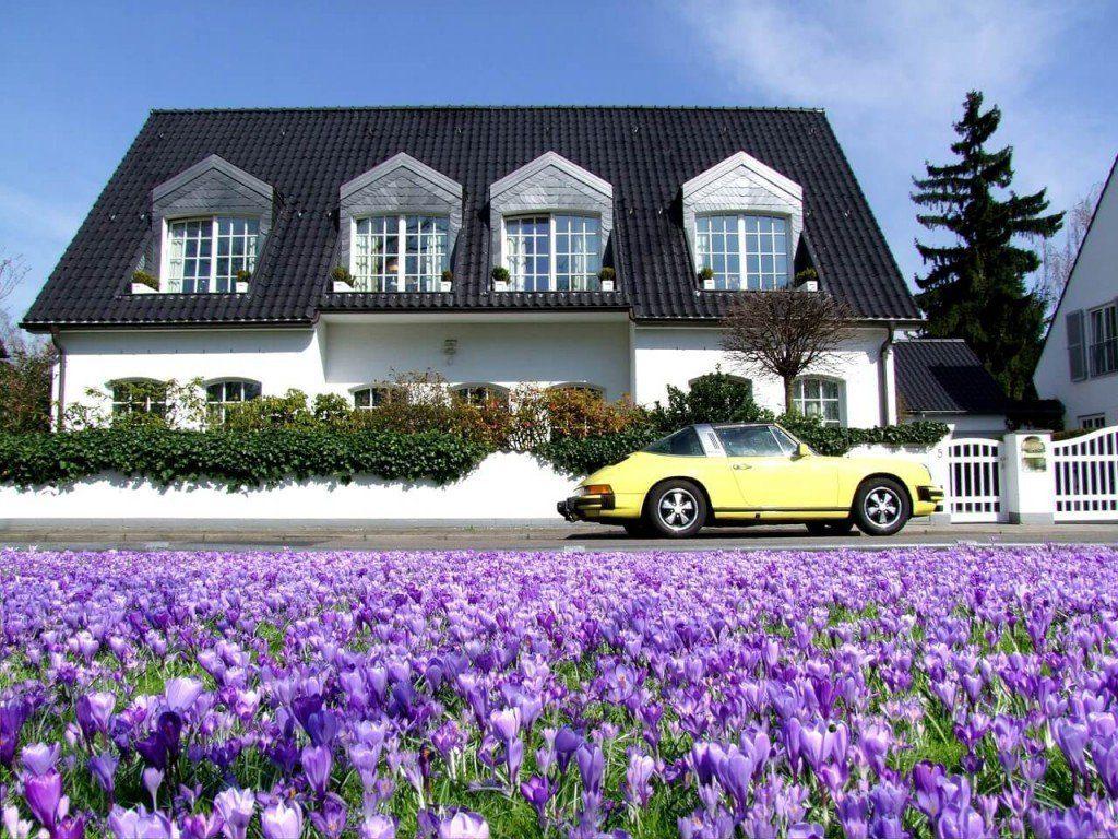 Casa y auto de ensueño
