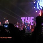 The Offspring animó la noche