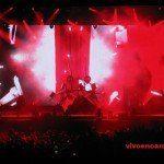 Skrillex con su show de música y video