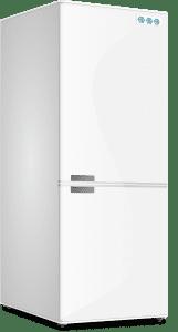La nevera y el congelador