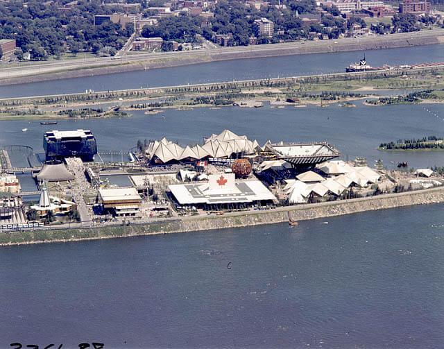 Pabellón canadiense en Expo 67