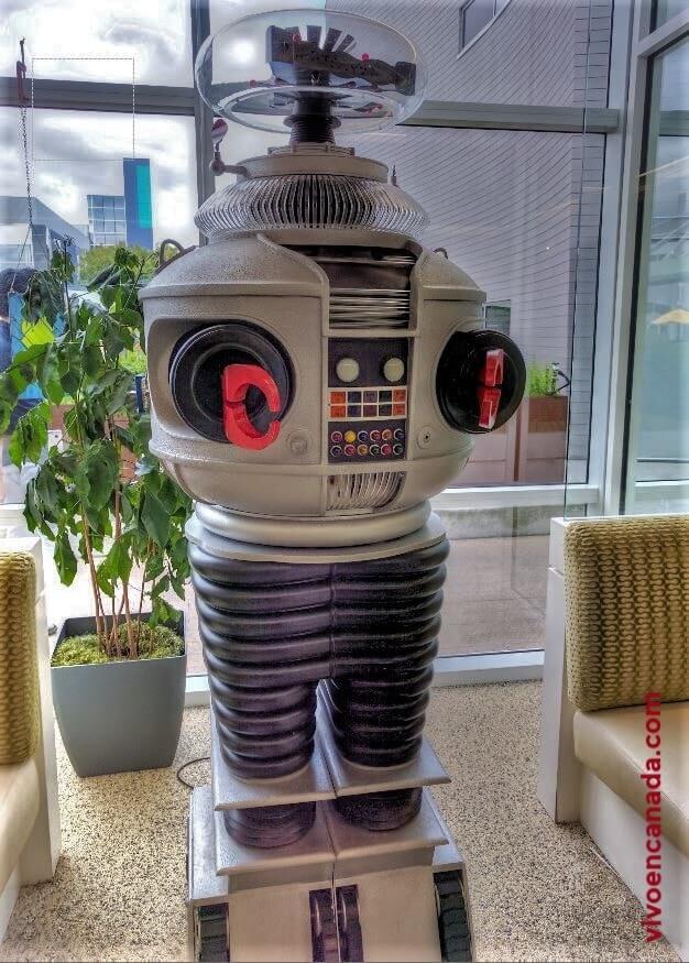 Robot de ciencia ficción.